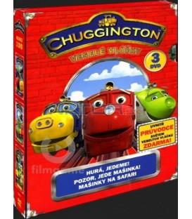 3 DVD kolekce Chuggington - Veselé vláčky / Chuggington /