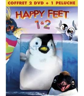 Kolekce Happy Feet 1+2 s plyšákem 2DVD (Kolekce Happy Feet 1+2 s plyšákem)