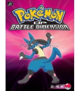 Pokémon (XI): DP Battle Dimension 12.-16.díl (DVD 3)