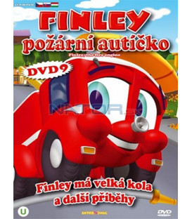 Finley požární autíčko 9 (Finley the Fire Engine) DVD