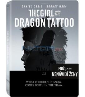 Muži, kteří nenávidí ženy 2011 - Blu-Ray (The Girl with the Dragon Tattoo) STEELBOOK Sběratelská edice 2BD
