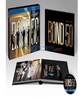 JAMES BOND 50 Kolekce 22BD (Blu-Ray)
