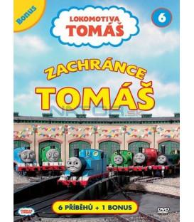 Lokomotiva Tomáš 6: Zachránce Tomáš DVD
