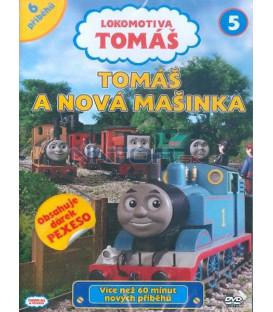 Lokomotiva Tomáš 5: Tomáš a nová mašinka DVD