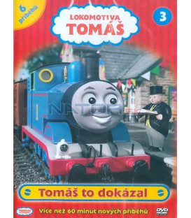 Lokomotiva Tomáš 3:Tomáš to dokázal DVD