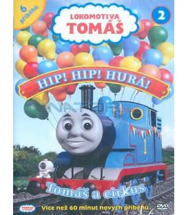 Lokomotiva Tomáš 2: Hip,Hip, Hurá! DVD