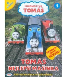 Lokomotiva Tomáš 1: Tomáš nejlepší mašinka DVD