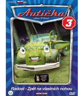 Autíčka 3   (Auto B-Good 3) DVD