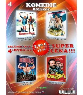 Komedia kolekcia 4 - / 4 DVD /