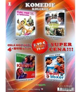 Komedia kolekcia 1 - / 4 DVD /
