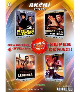 Akčná Kolekcia 6 - / 4 DVD /