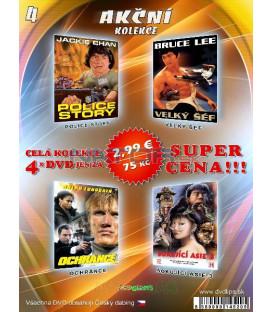 Akčná Kolekcia 4 - / 4 DVD /
