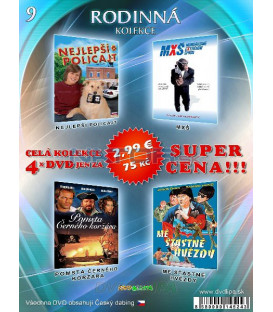 Rodinna kolekcia 9 - / 4 DVD /