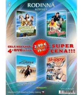 Rodinna kolekcia 5 - / 4 DVD /