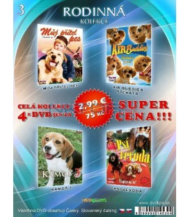 Rodinna kolekcia 3 - / 4 DVD /