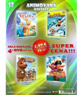 Animovana kolekcia 12 - / 4 DVD /