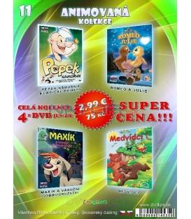Animovana kolekcia 11 - / 4 DVD /
