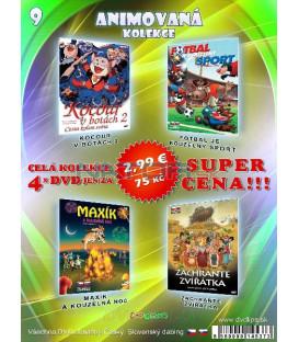 Animovana kolekcia 9 - / 4 DVD /