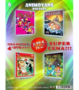 Animovana kolekcia 6 - / 4 DVD /