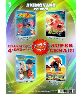 Animovana kolekcia 3 - / 4 DVD /