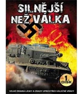 Silnější než válka (Stronger than War) – 1. DVD – SLIM BOX