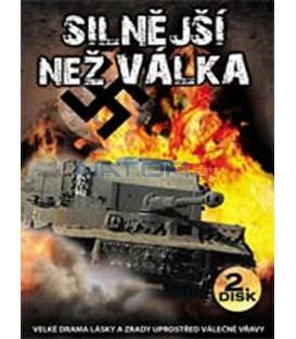 Silnější než válka (Stronger than War) – 2. DVD – SLIM BOX