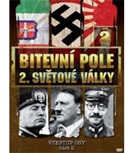 Bitevní pole 2. světové války – 2. DVD – SLIM BOX