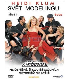 Svět modelingu kolekce /6 DVD/   (Project Runway season)
