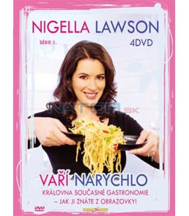 Nigella vaří narychlo digipack /4DVD/   (Nigella Express)