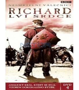 Nesmrtelní válečníci - DVD 4 - Richard Lví srdce (Heroes and Villains: Richard the Lionheart) DVD