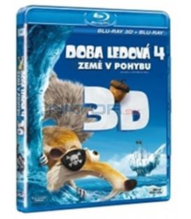 Doba ledová 4: Země v pohybu / 2012 , 2-disková edice: 2D a 3D verze Blu-Ray