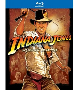 INDIANA JONES KOLEKCE - Blu-ray (5 BD)