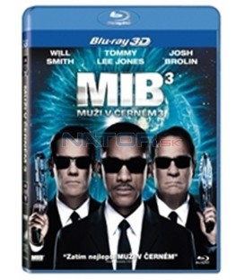 Muži v černém 3:  3D verze + bonusový disk s 2D verzí filmu ( Men in Black III)