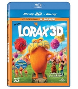lorax - animovaný (Dr. Seuss The lorax (2012) 3D+2D - Blu-ray 3D