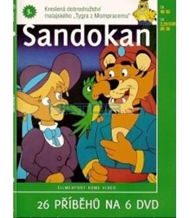 Sandokan 3. (Sandokan) DVD