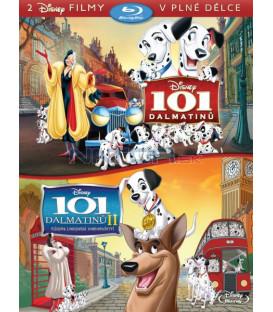 101 DALMATINŮ KOLEKCE dvou filmů (2 BD) - Blu-ray