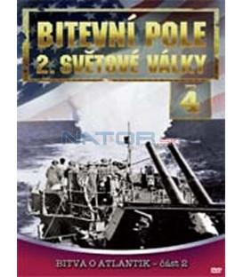 Bitevní pole 2. světové války – 4. DVD – SLIM BOX