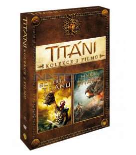 Souboj Titánů+Hněv Titánů  (Clash of the Titans+Wrath of the Titans)  DVD