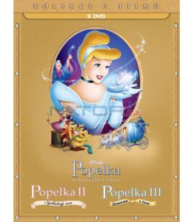 Popelka 1-3. kolekce 3DVD