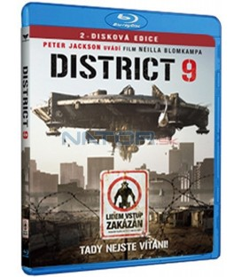 District 9 (Combo) DVD + Blu-ray   (District 9)