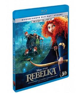 Rebelka / Neskrotná (Brave) 3D+2D - 2012 - Blu-ray