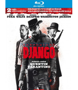 NESPOUTANÝ DJANGO (Django Unchained) - Blu-ray