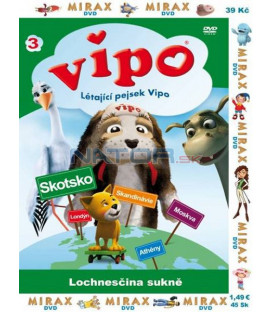 Vipo 3 - Létající pejsek Vipo: Lochnesčina sukně (VIPO: Adventures of The Flying Dog)