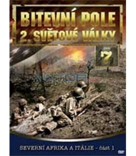 Bitevní pole 2. světové války – 7. DVD – SLIM BOX