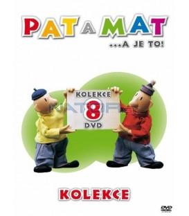 Pat a Mat – kolekce 8 DVD
