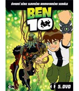 BEN 10 – 5. DVD – SLIM BOX