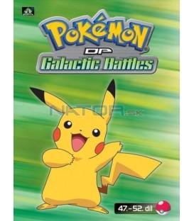 Pokémon (XII): DP Galactic Battles 47.-52.díl (DVD 10)