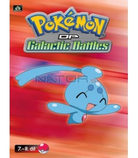 Pokémon (XII): DP Galactic Battles 7.-11.díl (DVD 2)