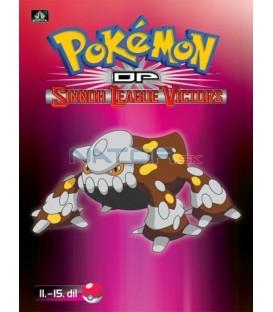 Pokémon (XIII): DP Sinnoh League Victors 11.-15.díl (DVD 3)