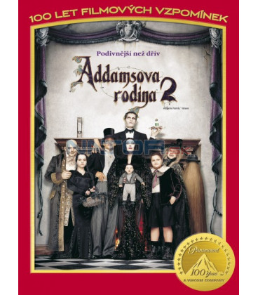 Addamsova rodina 2 (Addams Family Values)  - 100 let Paramountu